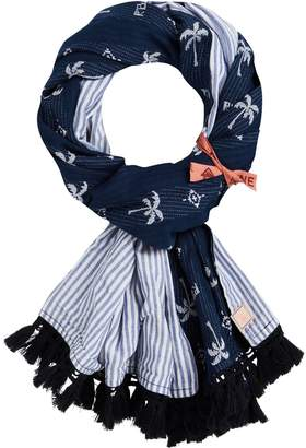 Scotch & Soda Jacquard Palm Scarf