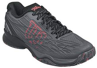 Wilson Kaos Ebony/Black/Red Men's Tennis Shoes