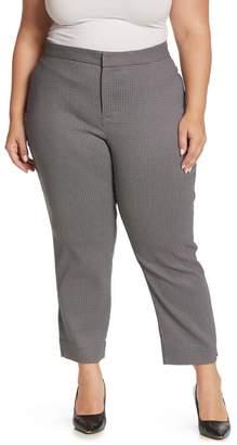 NYDJ Geo Pattern Ankle Pants (Plus Size)