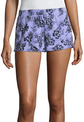 Flirtitude Tulip Sleep Short Pajama Shorts - Juniors