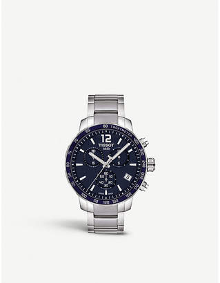 Tissot T095.417.11.047.00 Quickster stainless steel watch