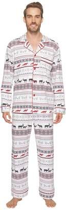 BedHead Long Sleeve Classic Pajama Set Men's Pajama Sets