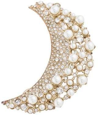 Chanel Cystal & Faux Pearl Ear Cuff