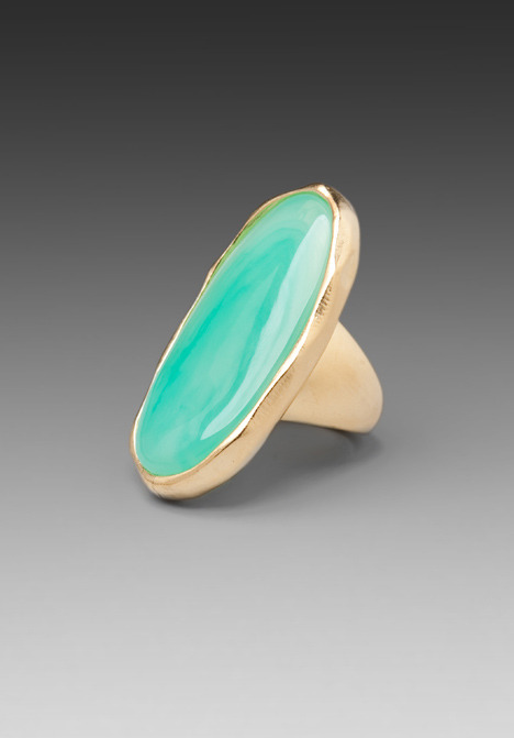Kenneth Jay Lane Oval Ring
