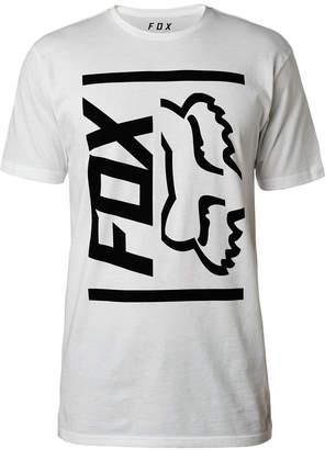 Fox Men's Side Barred Logo-Print T-Shirt