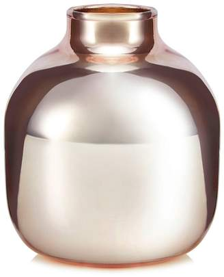 Debenhams Home Collection - Rose Gold Glass Bud Vase