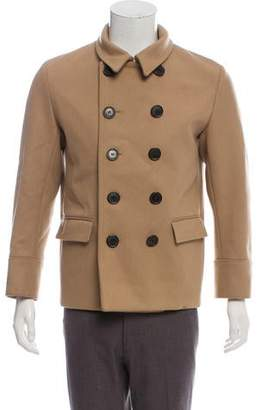 Christian Dior Wool Double-Breasted Coat