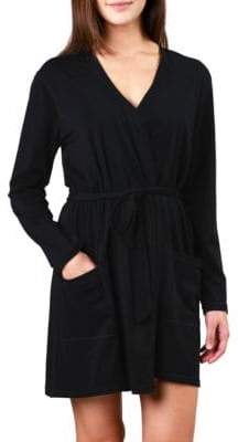 Naked Essential Cotton Wrap Robe