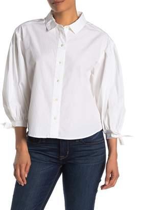 Frame Tie Cuff Shirt