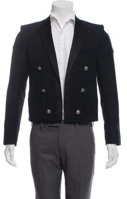 Balmain Double-Breasted Wool-Blend Jacket w/ Tags