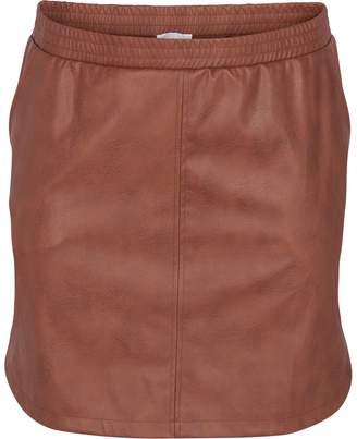 Zizzi Plain Midi Pencil Skirt