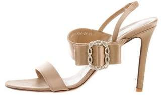 Valentino Satin Bow Sandals