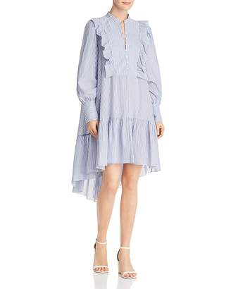 BCBGMAXAZRIA Joanna Ruffled High/Low Tent Dress - 100% Exclusive