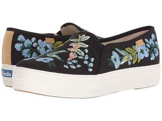 Rifle Paper Co. Keds x Triple Decker Embroidered Herb Garden