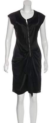 Philosophy di Alberta Ferretti Satin Knee-Length Dress