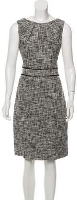 Jason Wu Sleeveless Knee-Length Tweed Dress