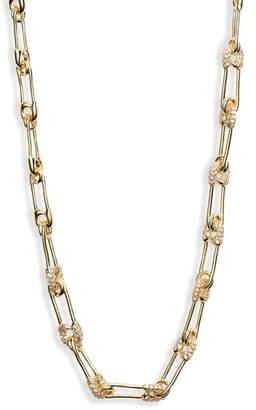 Melinda Maria Safety Pin Choker Necklace