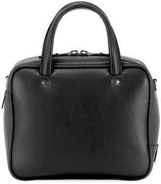 Balenciaga XS Square Logo Leather Tote Bag