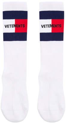 Vetements Logo Socks