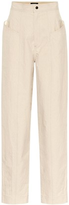 Isabel Marant Ladjo high-rise cotton pants