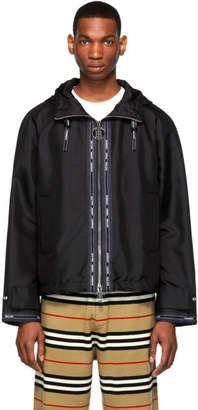 Burberry Black K Way Jacket