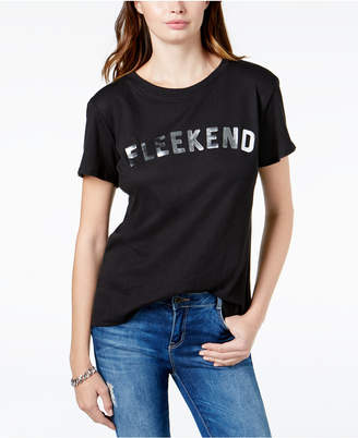 Sub Urban Riot Fleekend Graphic-Print T-Shirt