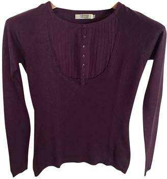 Comptoir des Cotonniers Purple Silk Knitwear for Women