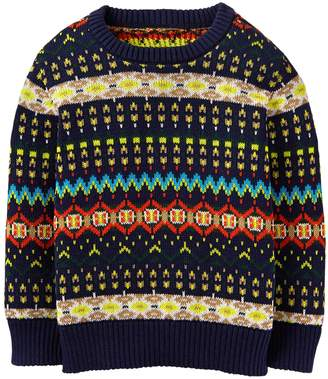 Crazy 8 Crazy8 Fair Isle Sweater