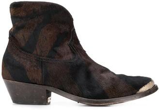 Golden Goose cap toe boots