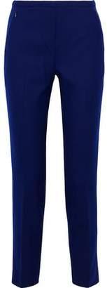 Elie Tahari Stretch Wool-Twill Slim-Leg Pants