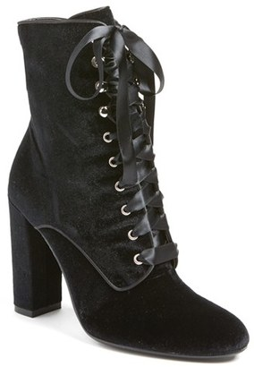 Steve Madden 'Evolved' Lace-Up Bootie $149.95 thestylecure.com