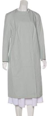 Akris Long Striped Coat