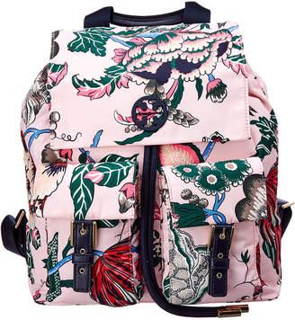 Tory Burch Tilda Printed Flap Backpack