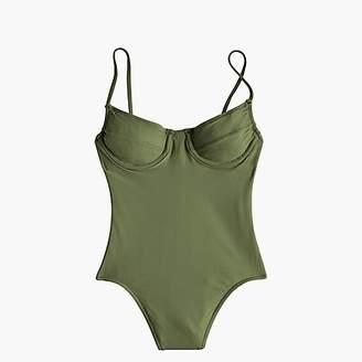 J.Crew Women's 1993 underwire one-piece swimsuit