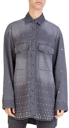 The Kooples Studded Denim Shirt