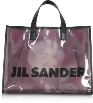 Jil Sander See through Medium Knitted Vinyl Tote bag