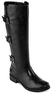JCPenney 9 & Co.® Captain Triple-Buckle Boots