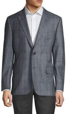 Hickey Freeman Millburn II Plaid Sport Jacket