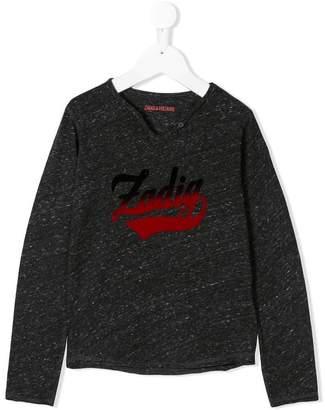 Zadig & Voltaire Kids Boxo branded top