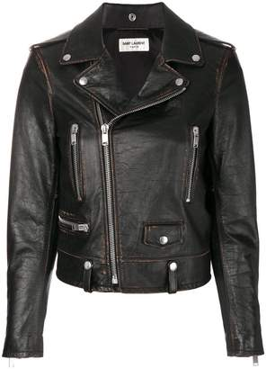 Saint Laurent Slow Kissing motorcycle jacket