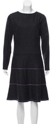 Sophie Theallet Wool Midi Dress