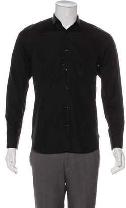 Saint Laurent Point Collar Button-Up Shirt w/ Tags