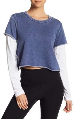 Alternative 2-Fer Long Sleeve Pullover
