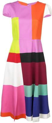 Mary Katrantzou colour block dress