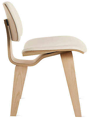 Design Within Reach Herman Miller Eames Upholstered Molded Plywood Dining Chair (DCW), Offwhite at DWR