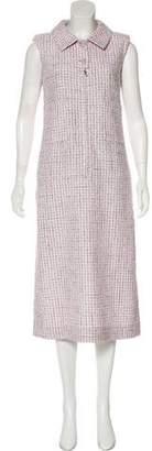 Chanel Fantasy Tweed Midi Dress