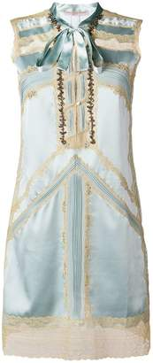 Ermanno Scervino lace-embroidered shift dress