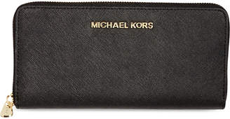 MICHAEL Michael Kors Jet Set saffiano leather wallet