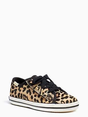 Kate Spade Keds Kids X Champion Leopard Toddler Sneakers, Leopard - Size 5