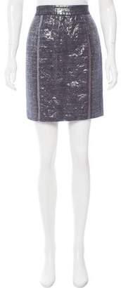 Proenza Schouler Metallic Mini Skirt